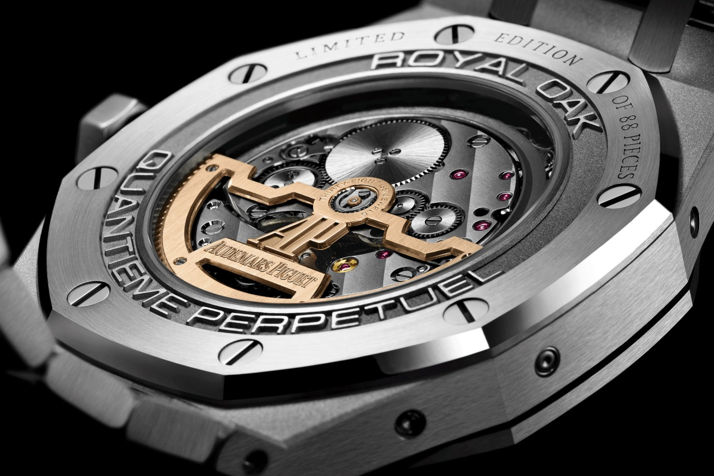Royal Oak Perpetual Calendar China Limited Edition caseback
