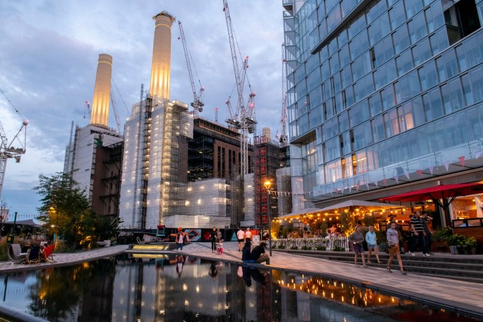 Battersea Power Station retail development