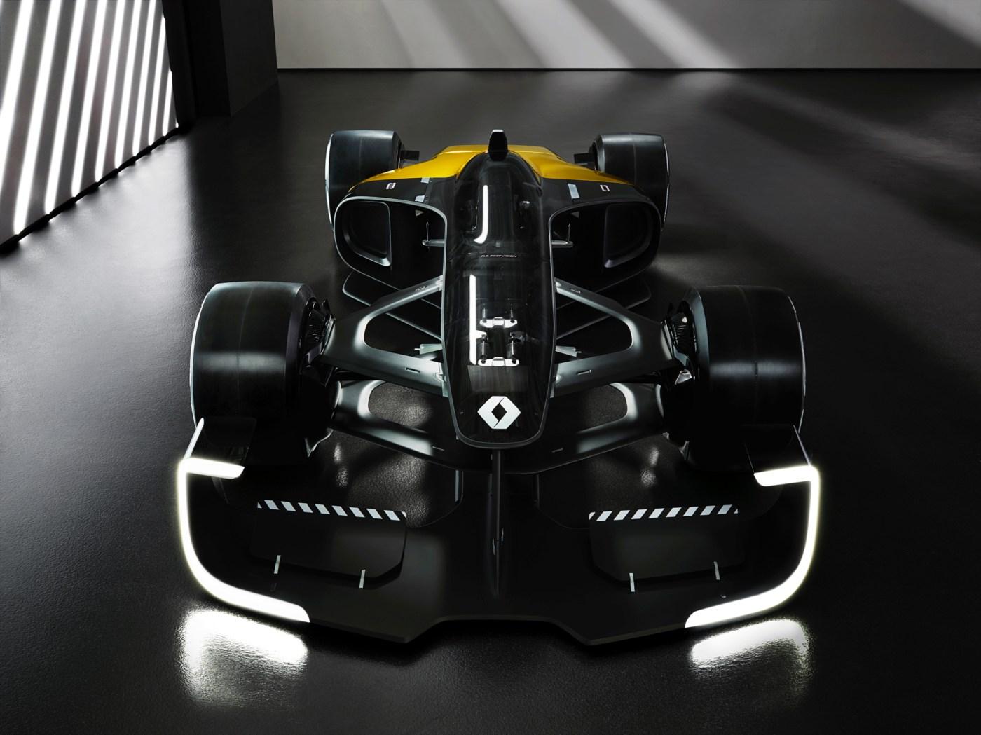 Renault R.S.2027 Concept F1 car