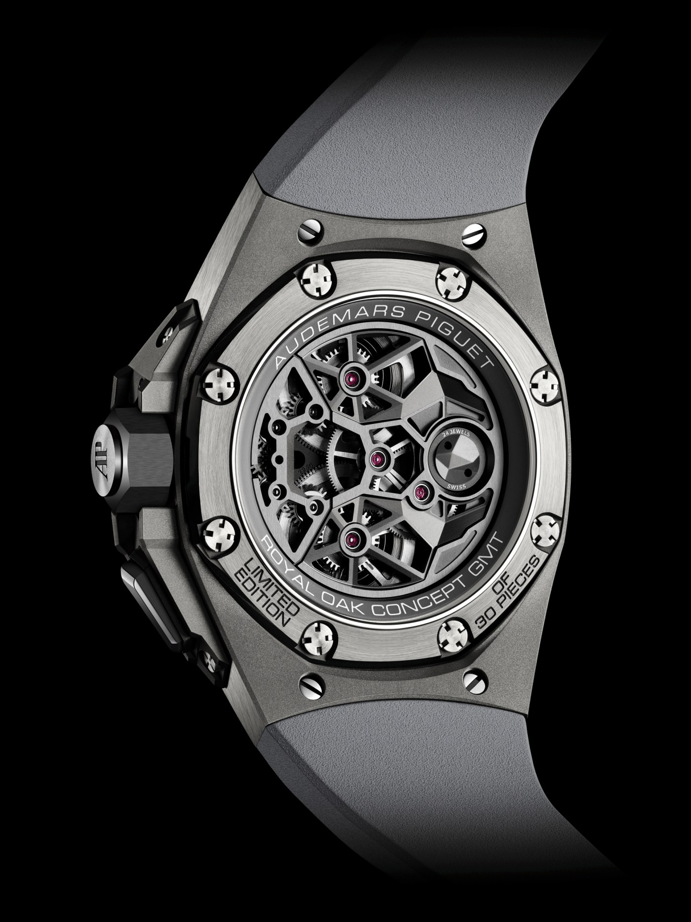 2020 Audemars Piguet Royal Oak Concept Flying Tourbillon GMT caseback