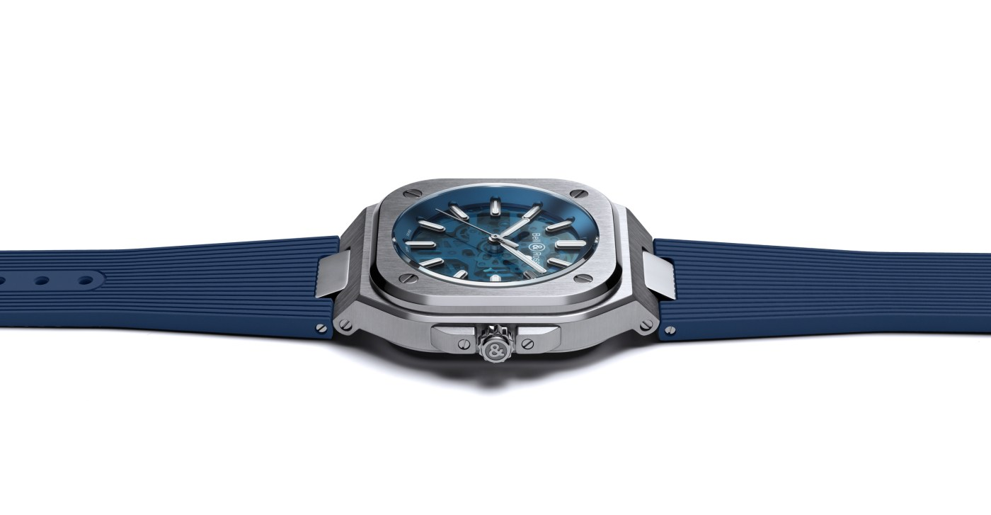 Bell & Ross BR 05 Skeleton Blue