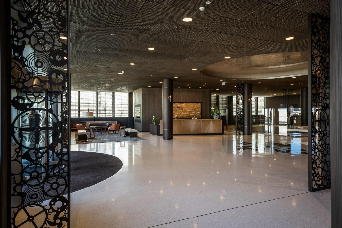 2020 Patek Philippe Plan-les-Ouates Geneva manufacture lobby