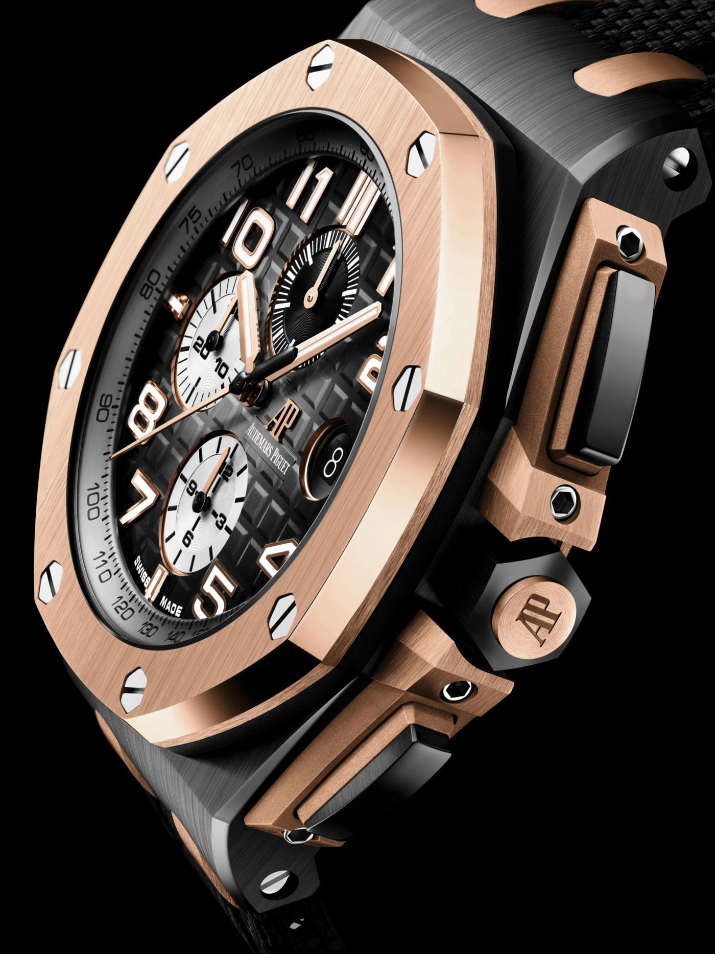 2020 Royal Oak Offshore Chronograph 44 mm Ceramic with pink gold