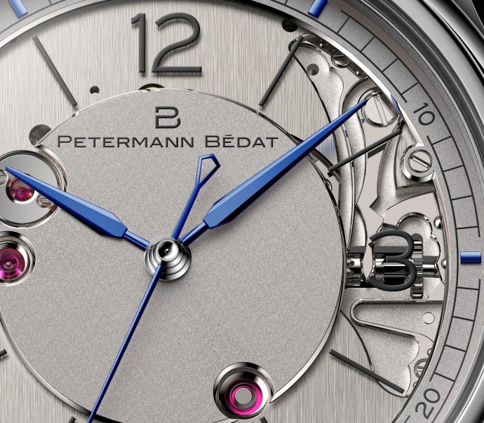 Petermann Bedat 1967 dial zoom in