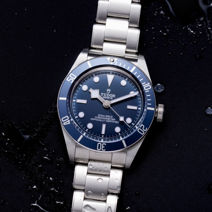 Tudor Black Tudor Bay Fifty-Eight Navy Blue