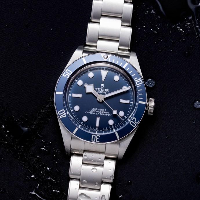 Tudor Black Tudor Bay Fifty-Eight Navy Blue