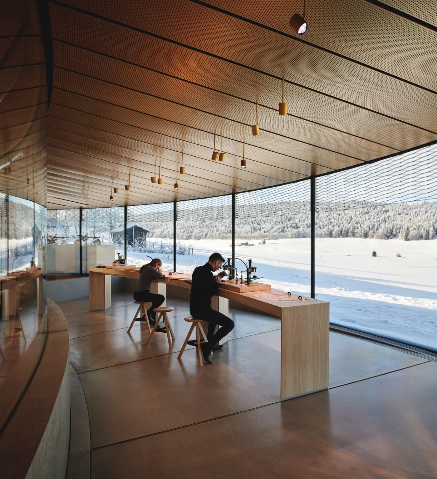 Musee Atelier Audemars Piguet interior