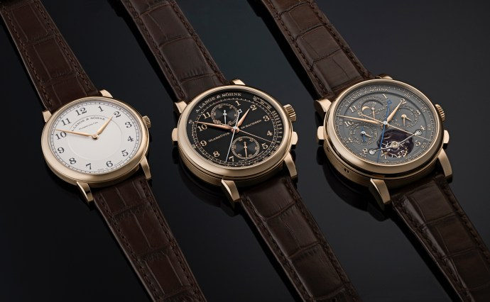 Lange 175 Years Series Honeygold 2020 ensemble