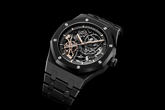 Audemars Piguet Royal Oak Double Balance Wheel Openworked Black Ceramic 2020