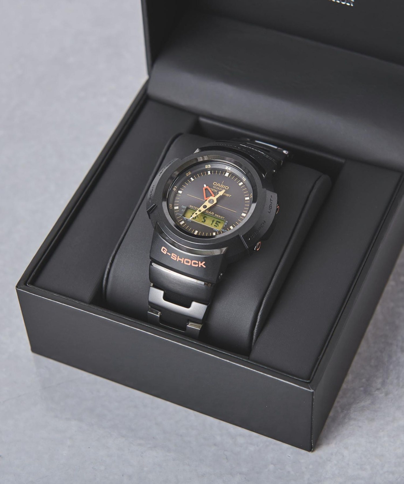 G-Shock AWM-500 United Arrows box