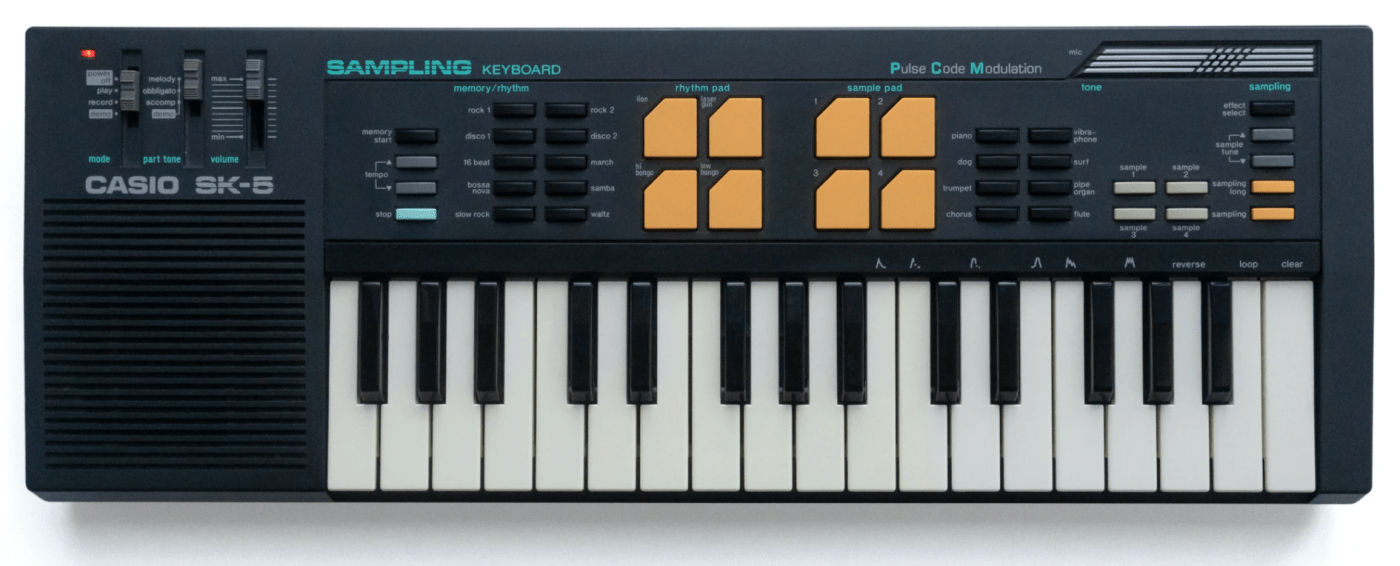 Casiotone SK-5 Sampling Keyboard