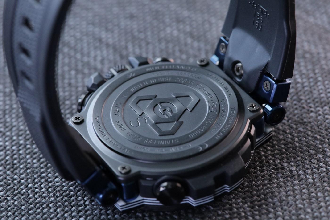 G-Shock MT-G Carbon Fiber MTGB1000XB-1A caseback