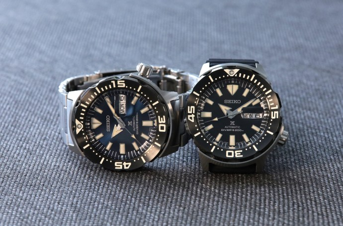 "Seiko Prospex SRPD25 and SRPD27 ""Monster"" Automatic Divers"