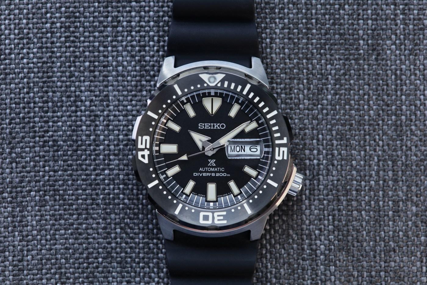 Seiko Prospex Ref SRPD27 Monster Automatic Diver