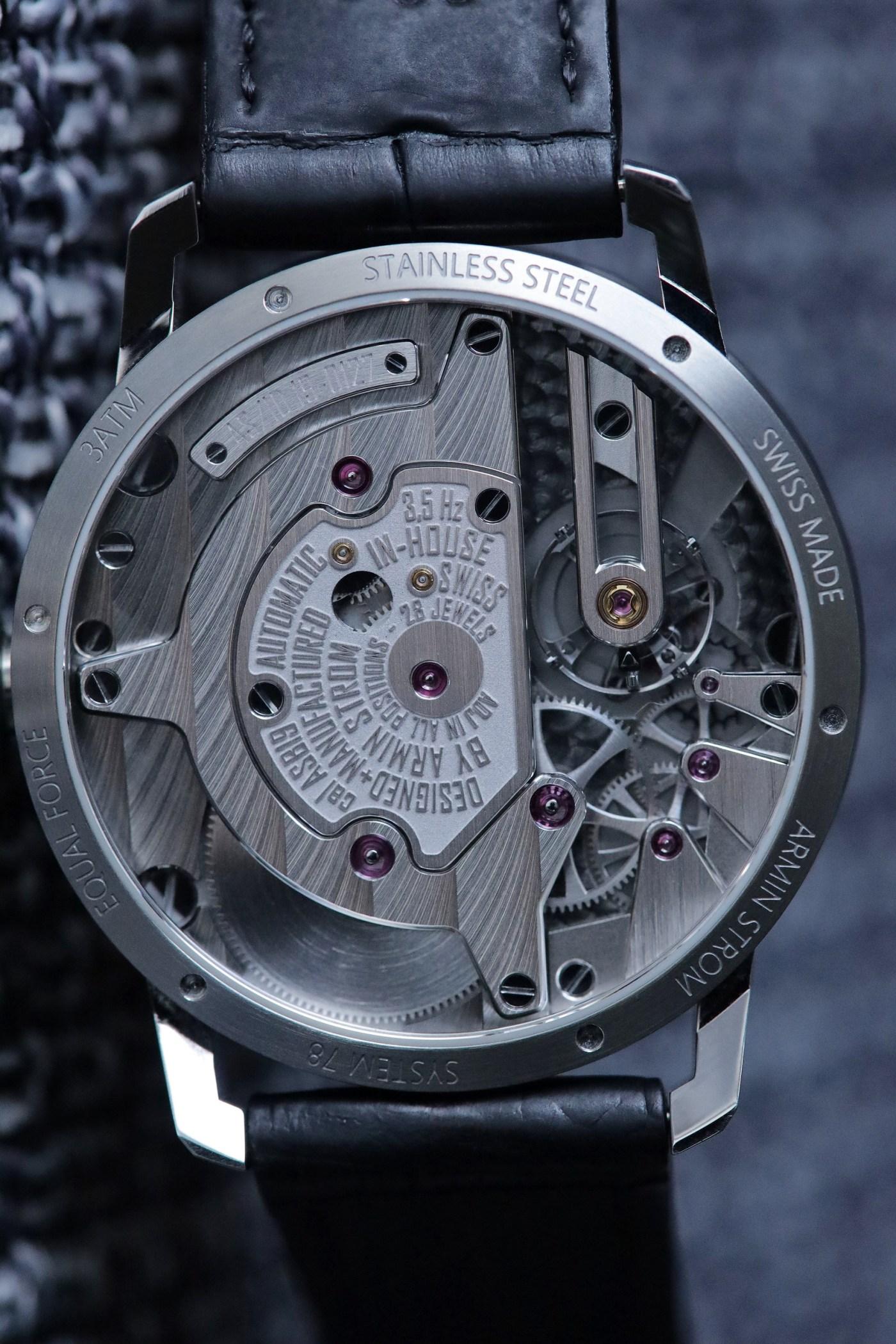 Armin Strom Gravity Equal Force caliber ASB19