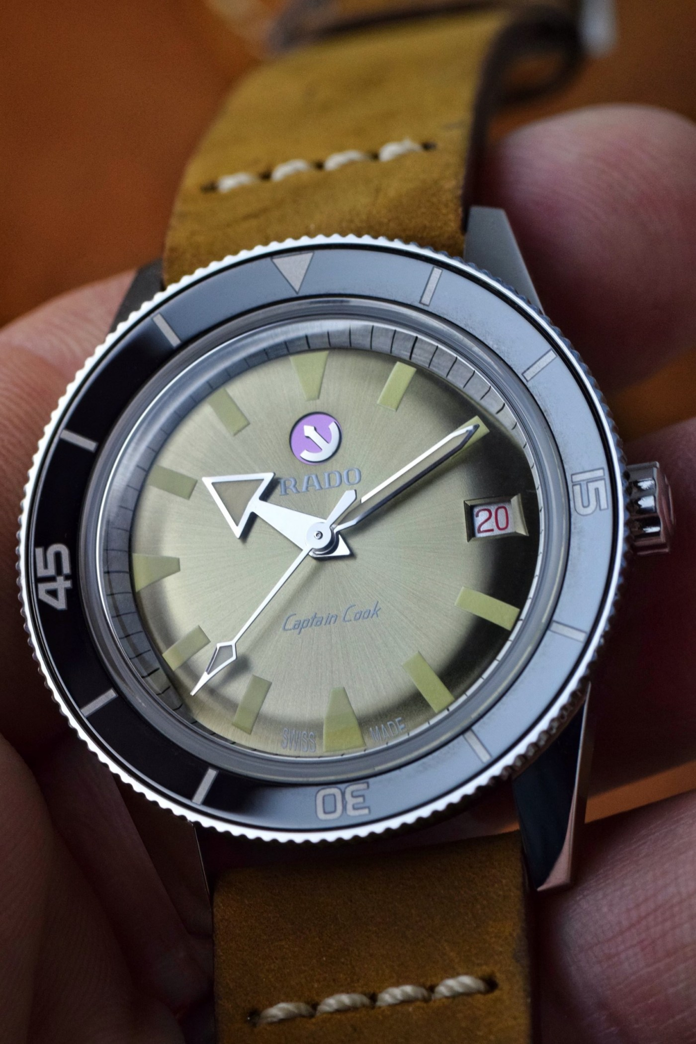Rado Captain Cook Automatic hands-on