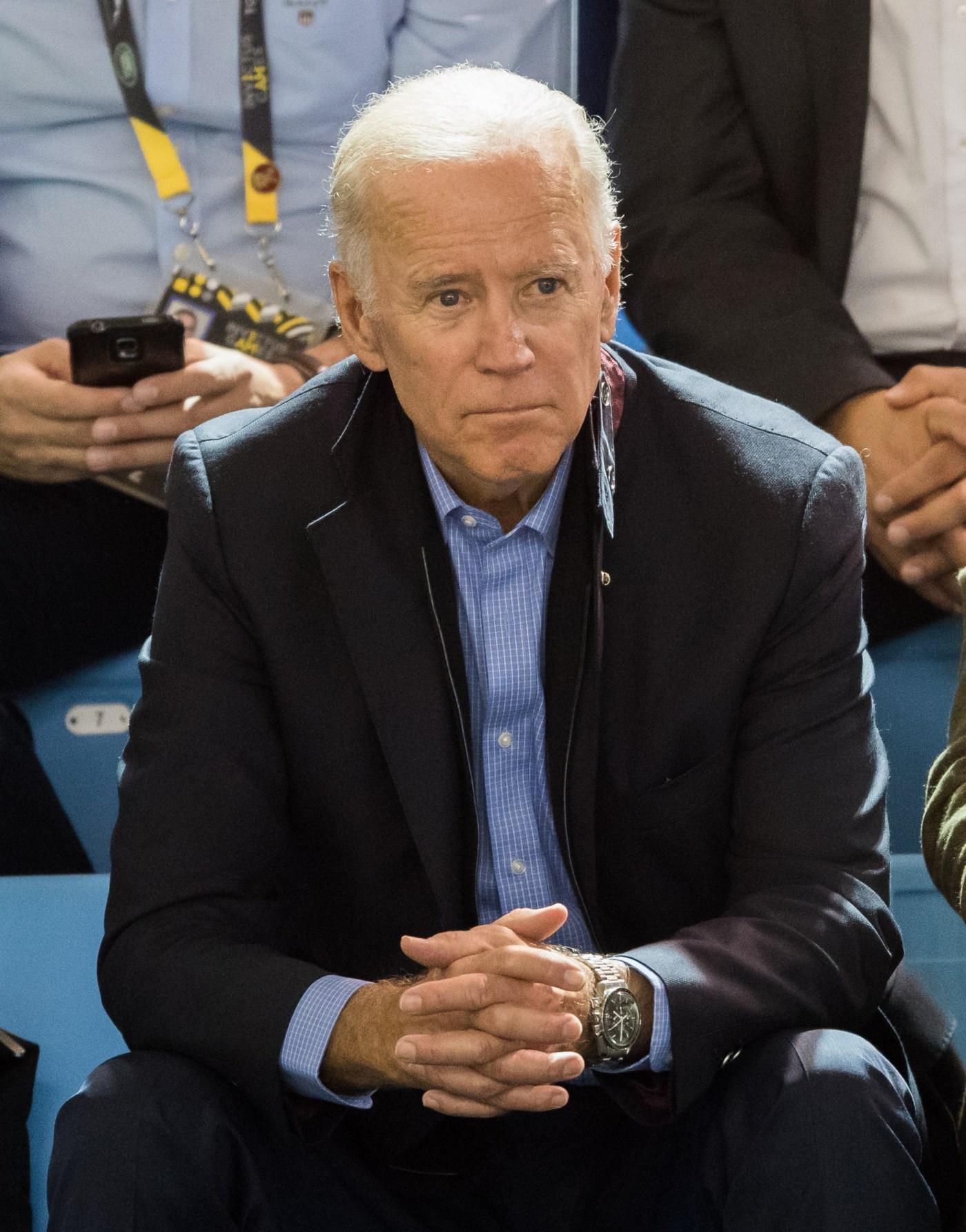 Joe Biden wearing Omega Speedmaster Professional Moonwatch