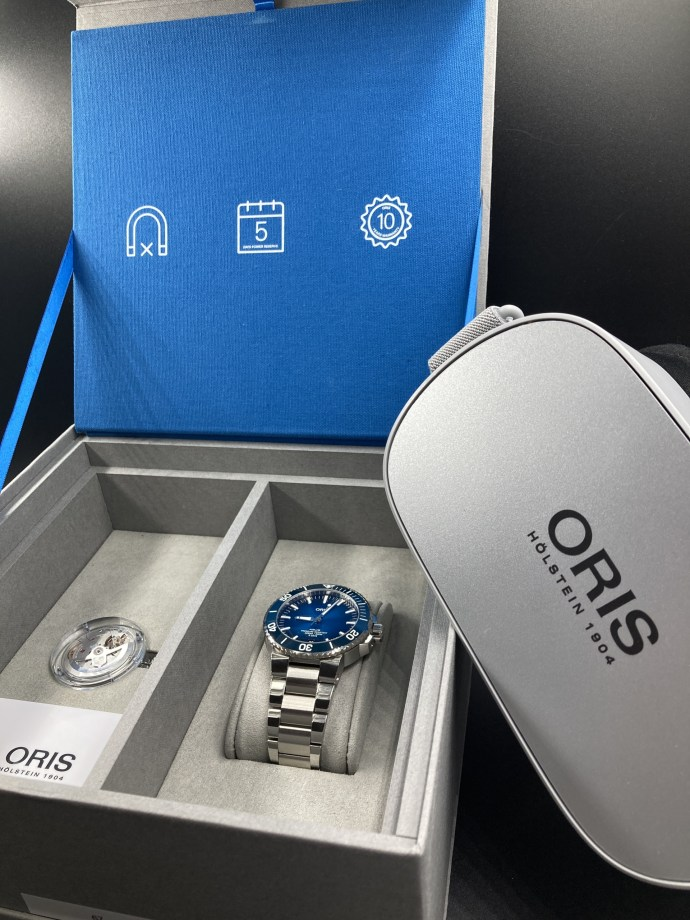 Oris caliber 400 Technical Review cover