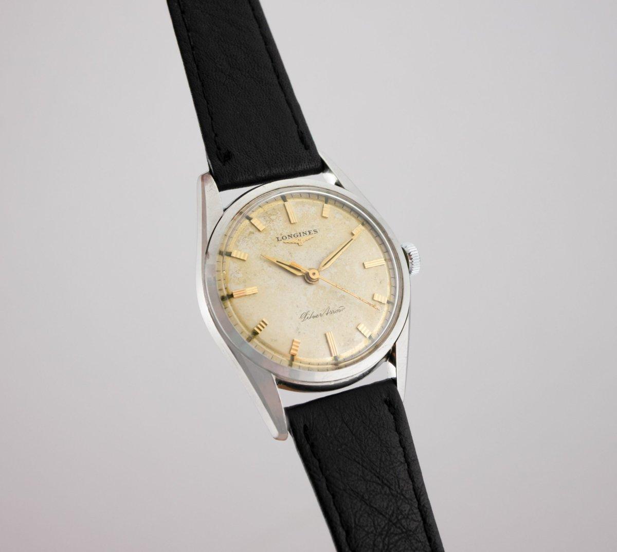 Vintage Longines Silver Arrow