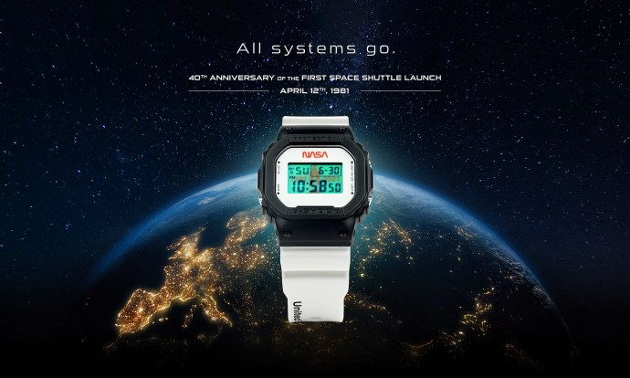 G-Shock DW5600 NASA Limited Edition 2021