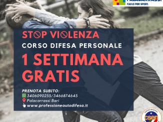 promozione 1 settimana gratis difesa personale donne
