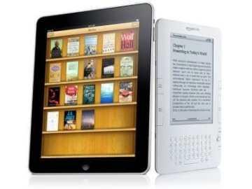 Amazon Kindle vs Apple iPad iBooks