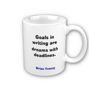 Goals in Writing Mug
