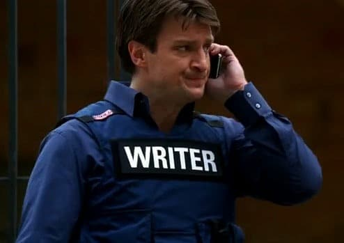 Image result for Rick Castle Writer