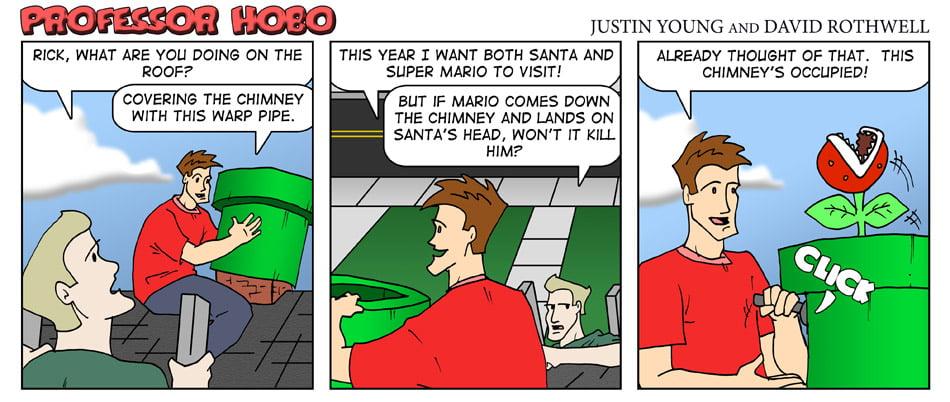 Santa Versus Mario