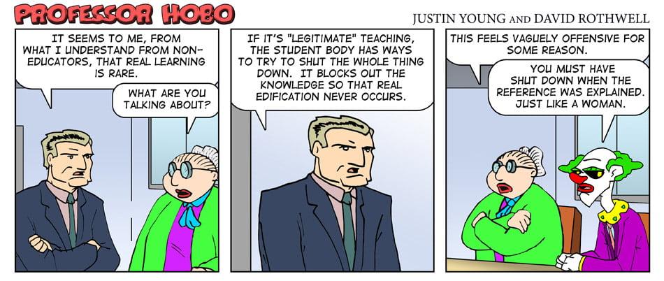 Legitimate Teaching