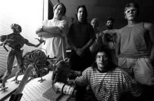 John Carmack, John Romero and the rest of the Doom team.