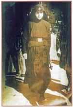 La giovane suor Macaria nel 1945
