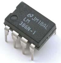 Amplificador con LM386