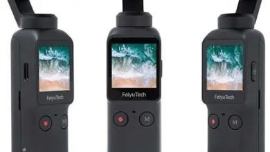 Photo of إصدار كاميرا جيمبل Feiyu Pocket جديدة مستنسخة عن DJI Osmo Pocket وبسعر أقل