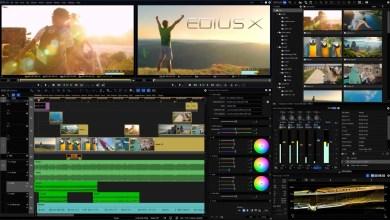 صورة إصدار جديد من برنامج المونتاج الشهير ايديوس EDIUS X