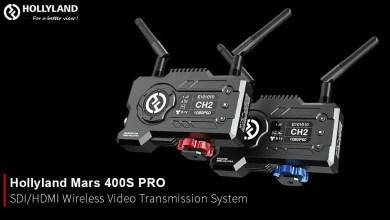 صورة هولي لاند تصدر نظام الفيديو اللاسلكي Hollyland Mars 400S PRO مع إمكانية البث المباشر عبر الانترنت
