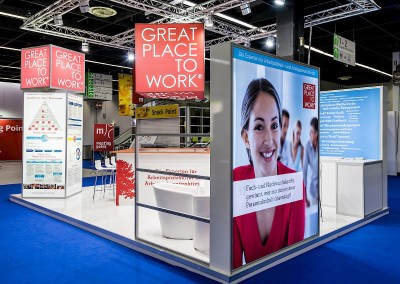 GREAT PLACE TO WORK Messestand