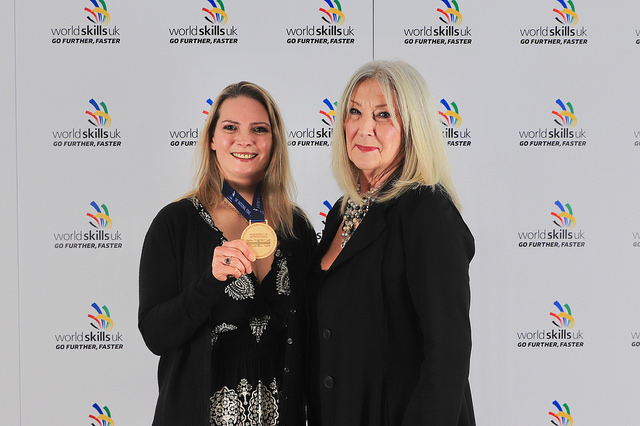 Gold Medal Winner Vikki Thompson of Derwentside College