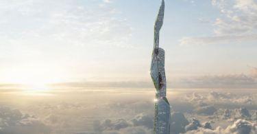 Ουρανοξύστης με ύψος 5 χλμ! Θα είναι πολυμορφικός και προϊόν 3D τεχνολογίας