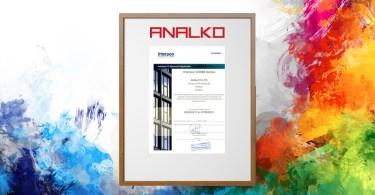 Analko πιστοποίηση D3000 AkzoNobel