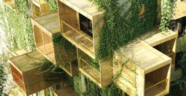 Ξύλινοι κύβοι, ενεργειακή απόδοση