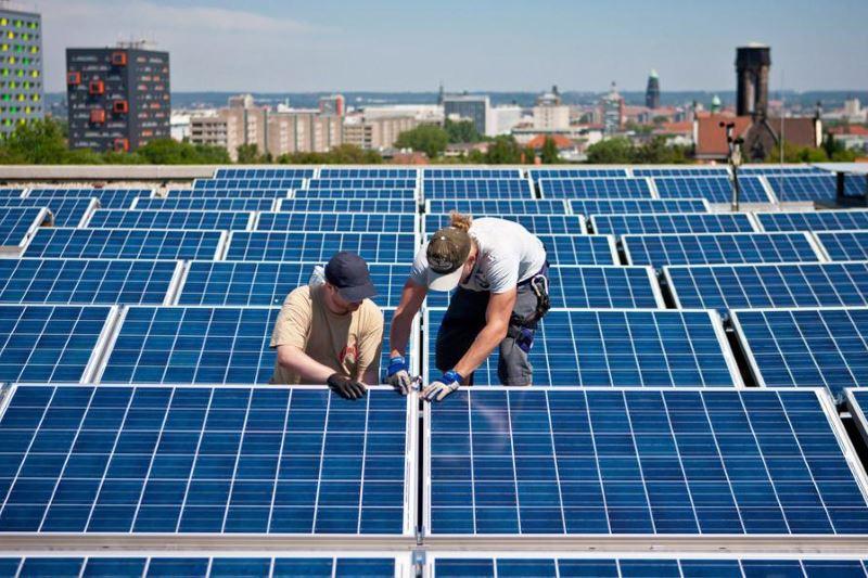 ηλιακών συλλεκτών