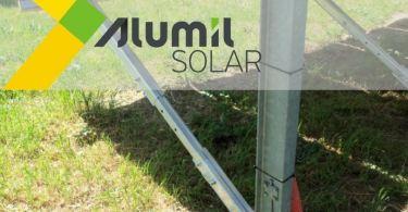 Alumil Solar-μονοπάσσαλη βάση