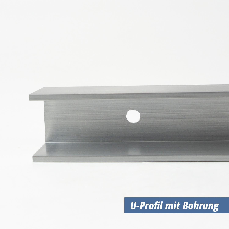 U Profil Aus Aluminium 20x60x20x2 Mm