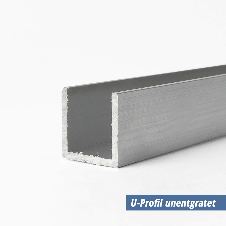 U Profil Aus Aluminium 12x12x12x2 Mm