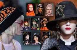 Nová móda pro naši hlavu se představuje: tady jsou trendy pro čepice a klobouky v sezóně podzim 2018 a zima 2019.