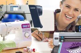 Průmyslové šicí stroje a řezací plotry udělají z vašeho hobby skutečný byznys.
