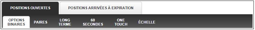 Position de trading