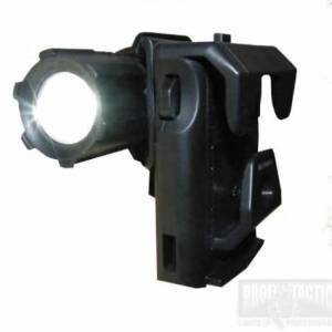 Rotačné plastové púzdro pre taktické baterky Helios 3 a Barracud