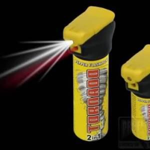 Obranný sprej Tornádo so svetlom 50ml
